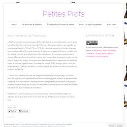 Inconvénients de Pearltrees