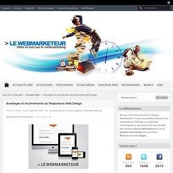 Avantages et Inconvénients du Responsive Web Design