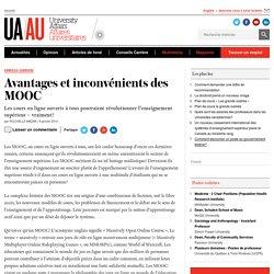 Avantages et inconvénients des MOOC