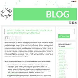 Inconvénients et avantages à l'usage de la visioconférence en entreprise