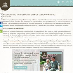 Incorporating Technology into Senior Living Communities
