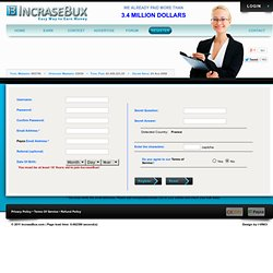 Earn money increasebux