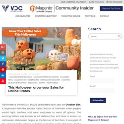 Increase Your Business for Online Stores This Halloween