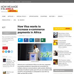 How Visa wants to increase e-commerce payments in Africa