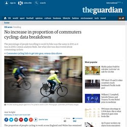 No increase in commuters cycling: data breakdown
