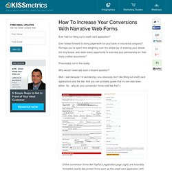 How To Increase Your Conversions With Narrative Web Forms