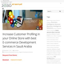 Increase Customer Profiling in your Online Store