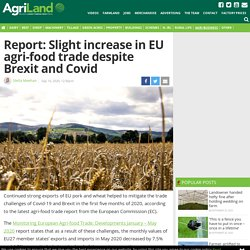 AGRILAND_IE 10/09/20 Report: Slight increase in EU agri-food trade despite Brexit and Covid