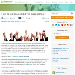 How to Increase Employee Engagement - Glassdoor Employers