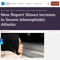 New Report Shows Increase in Severe Islamophobic Attacks