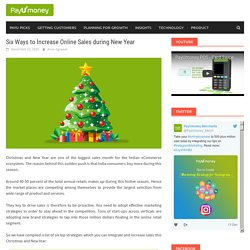 Six Best Ways to Increase Online Sales during New Year – PayUmoney