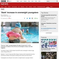 'Stark' increase in overweight youngsters