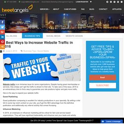 Best Ways to Increase Website Traffic