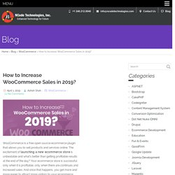 How to Increase WooCommerce Sales in 2019?