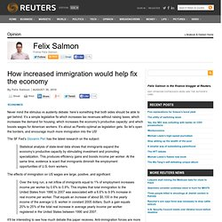 How increased immigration would help fix the economy