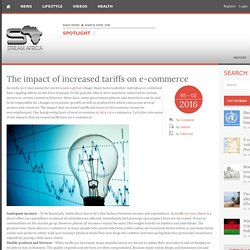 The impact of increased tariffs on e-commerce -