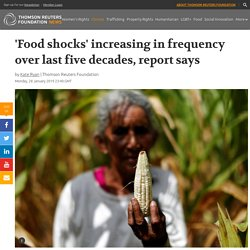 'Food shocks' increasing in frequency over last five decades...