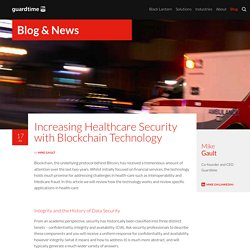 Increasing Healthcare Security with Blockchain Technology