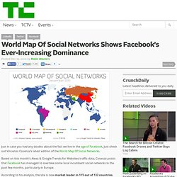 World Map Of Social Networks Shows Facebook's Ever-Increasing Dominance