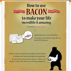 How to use bacon to make your life incredible and amazing - Recipe Star