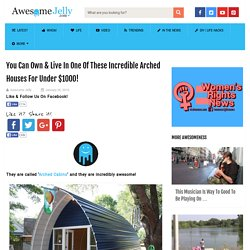You Can Own & Live In One Of These Incredible Arched Houses For Under $1000! AwesomeJelly.com