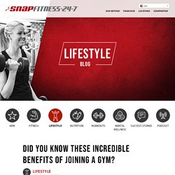 Did You Know These Incredible Benefits of Joining a Gym?