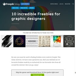 10 incredible Freebies for graphic designers - Freepik Blog
