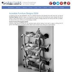 Incredible Furniture Designs 2009