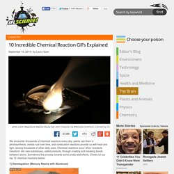 10 Incredible Chemical Reaction GIFs Explained