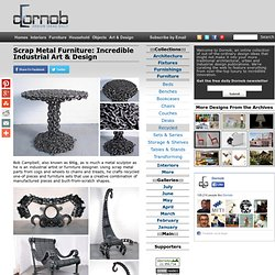 Scrap Metal Furniture: Incredible Industrial Art & Design « Dornob