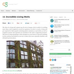 11 Incredible Living Walls