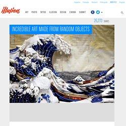 Increíble Arte a partir de objetos de azar - Ilusión 360 - Arte más impresionantes del mundo , Diseño , Tecnología y Video