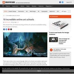10 incredible online art schools