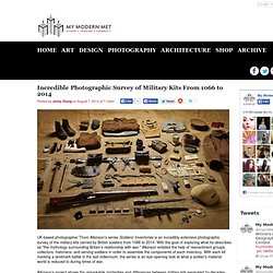 Incredible Photographic Survey of Military Kits From 1066 to 2014 - My Modern Met