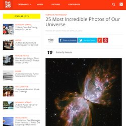 25 Most Incredible Photos of Our Universe