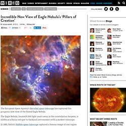 Incredible New View of Eagle Nebula's 'Pillars of Creation' | Wired Science