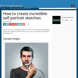 How to create incredible self portrait sketches