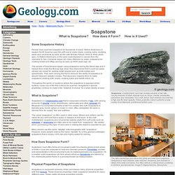 Soapstone: The soft rock with incredible heat properties!