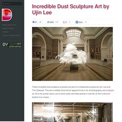 Incredible Dust Sculpture Art by Ujin Lee and Tom Edwards