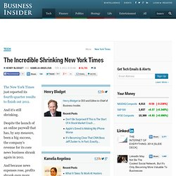 The Incredible Shrinking New York Times