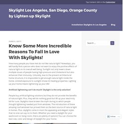 Skylight Los Angeles, San Diego, Orange County by Lighten up Skylight