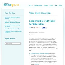 25 Incredible TED Talks for Educators - Learn-gasm