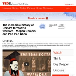 The incredible history of China's terracotta warriors -