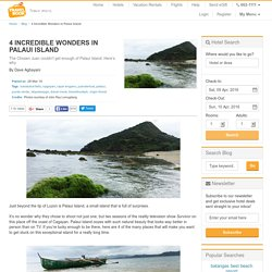 4 Incredible Wonders In Palaui Island