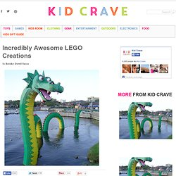 Incredibly Awesome LEGO Creations | Kid Crave