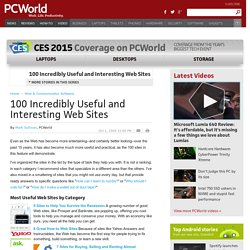 100 Incredibly Useful and Interesting Web Sites - PCWorld