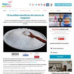 18 Increíbles beneficios del cloruro de magnesio
