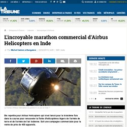 L'incroyable marathon commercial d'Airbus Helicopters en Inde