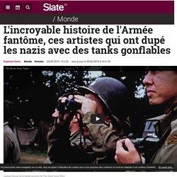 L'incroyable histoire de l'Armée fantôme, ces artistes qui ont dupé les nazis avec des tanks gonflables