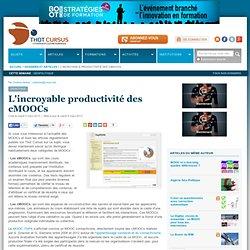 L'incroyable productivité des cMOOCs